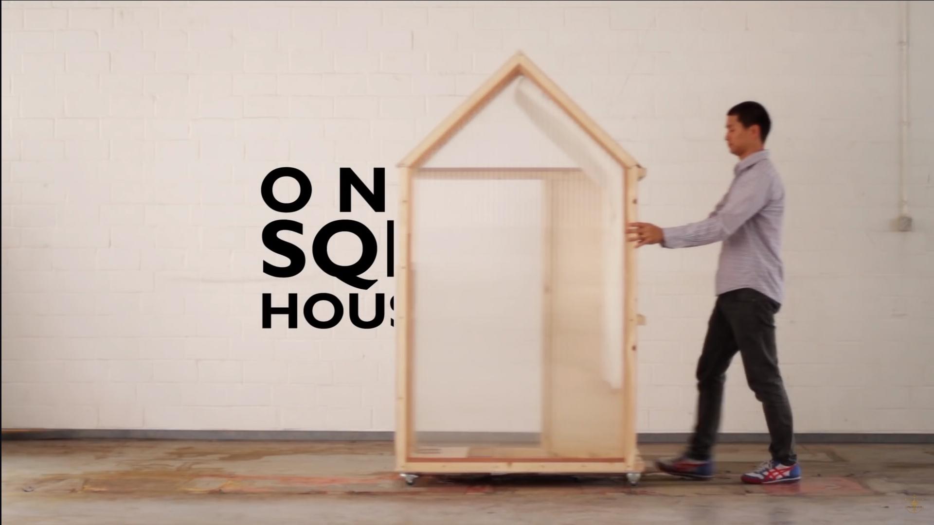 ein kleiner Film zum ein Quadratmeter Haus